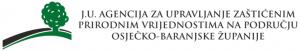 J.U.Agencija za upravljanje zaštićenim prirodnim vrijednostima na području Osječko-baranjske županije LOGO